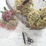Hortensienkranz selbstgemacht - DIY Anleitung findet ihr auf meinem Blog gundi on tour