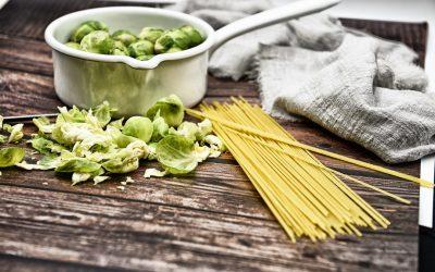 Rosenkohl mit Spaghetti … damit überzeugst Du jeden Rosenkohlhasser